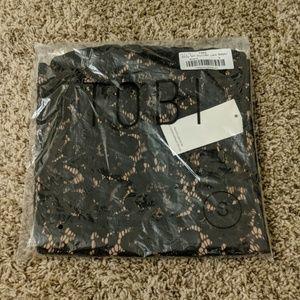 Tobi Other - Tobi black lace romper